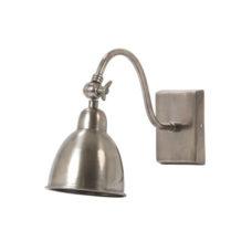 Wandlamp Antiek Zilver - 33cm