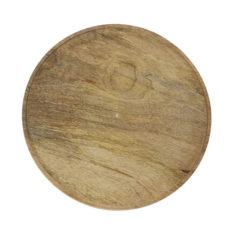 Dienblad Rond 32cm Hout