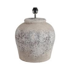 Lampenvoet Antique Grey - 49cm hoog - Doorsnee 39cm
