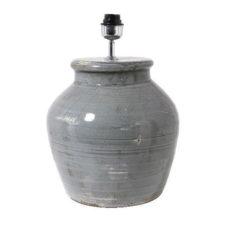 Tafellamp Dark Grey - 43cm hoog - Doorsnee 33cm
