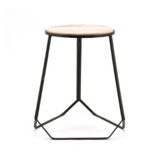 Stool Diamond - Black 42x40x46cm
