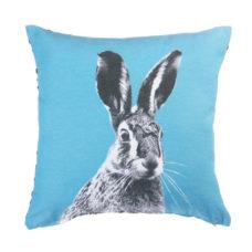 KAAT Amsterdam Colored Hare Sierkussen - Blauw