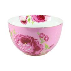 Kom XL Floral Roze - 23 cm