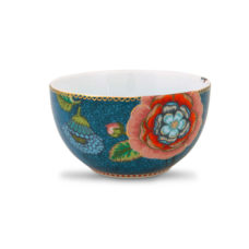 Kom S Spring to Life Blauw - 12 cm