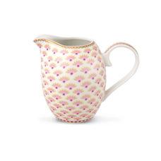 Melkkan klein Floral Bloomingtales Wit