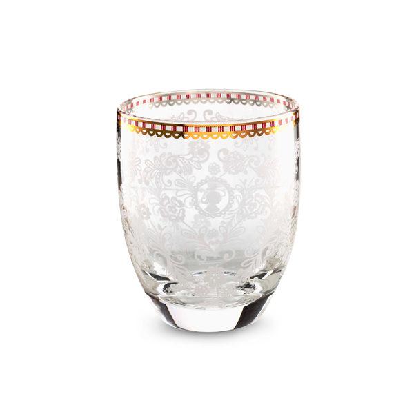 Waterglas floral clear