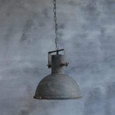Hanglamp Spijk Groot met een beugel Zwart - 41,5x41,5x47cm