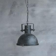 Hanglamp Spijk met een beugel Zwart - 32x32x36cm