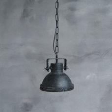 Hanglamp Spijk Klein met een beugel Zwart - 22x22x24cm