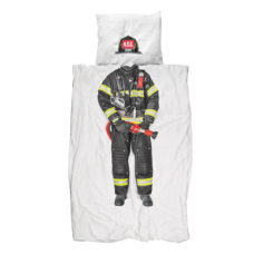 SNURK Firefighter dekbedovertrek 140 x 200/220 cm