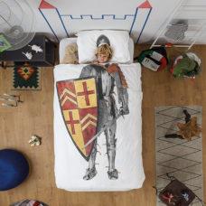 SNURK Knight dekbedovertrek 140 x 200/220 cm