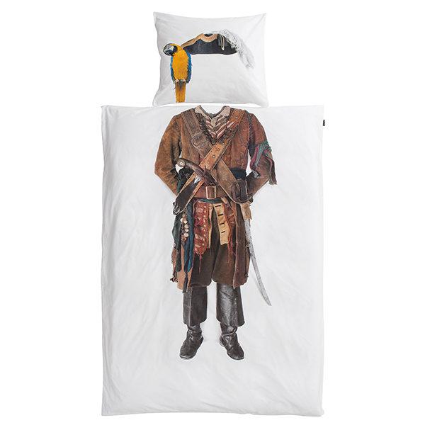 SNURK Pirate dekbedovertrek 140 x 200/220 cm