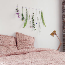 SNURK Twirre dekbedovertrek dusty pink 140 x 200/220 cm
