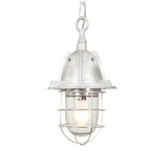 Hanglamp industrieel Tuk grijs