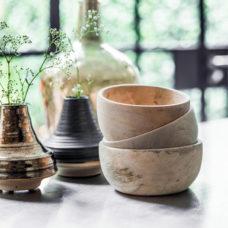 HK Living houten kom Natural