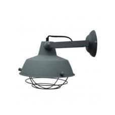 Wandlamp vintage grey +kooi 27cm