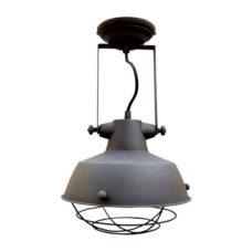 Wandlamp vintage black+kooi 27cm