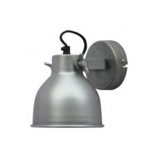 Wandlamp groot antiek zink 14cm