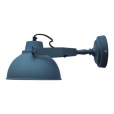 Wandlamp 30 cm vintage grey