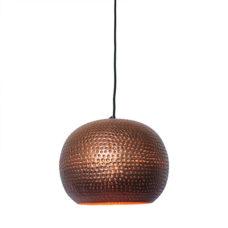 Hanglamp bol koper/koper 27x21cm