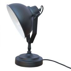 Tafellamp industrial zwart/white - Diameter 20cm