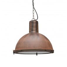 Hanglamp vintage roest 42cm
