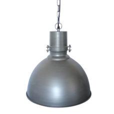 Hanglamp 40cm vintage grey/zink