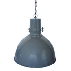 Hanglamp 40cm vintage dark grey
