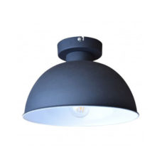 Plafondlamp industrial 30 cm Vintage black