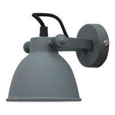 Wandlamp vintage grey