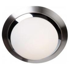 Plafondlamp metaal glas - 31cm
