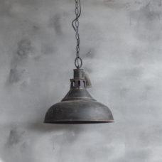Metalen hanglamp zwart - 36x36x32,5cm