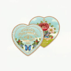 Set van 2 Heart Shaped Plates - PIP Studio 10 Years Limited Edition