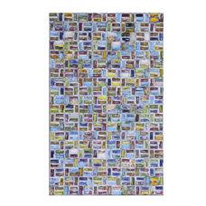 Wanddecoratie Telegraph - Rechthoekig gerecycled papier
