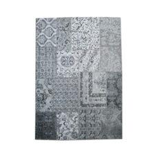 Carpet Patchwork 170x240 cm - grey