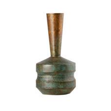 BePureHome Chimney metalen vaas - Antiek koper