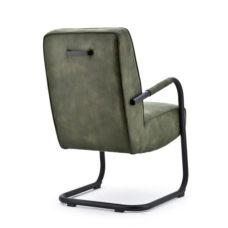Jelle stoel met frame - Groen