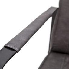 Milan fauteuil met frame - Antraciet