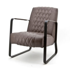 Milan fauteuil met frame - Taupe