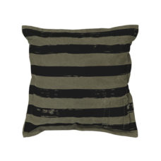 HK Living Sierkussen canvas printed striped