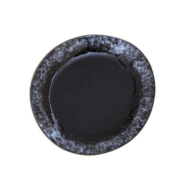 HK Living 70's side plate - zwart