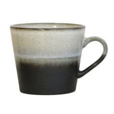 Hk Living 70's cappuccino mok - Rock