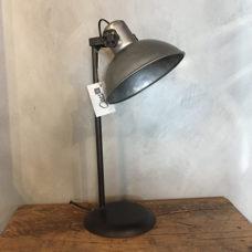 Unieke tafellamp metaal 53cm