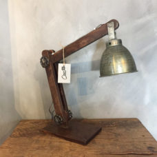 Unieke tafellamp 15x50x45cm