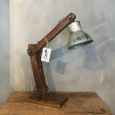 Industriële verstelbare tafellamp 15x50x45cm