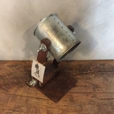 Tafellamp verstelbaar blik 16x14x30cm