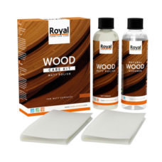 Oranje Matt Polish Wood Care Kit + Cleaner - 2x250ml