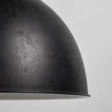Hanglamp dia 40cm Rough Black