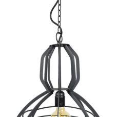 Hanglamp Scandic 40x50 vintage black