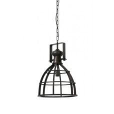 Hanglamp metaal antiek zwart